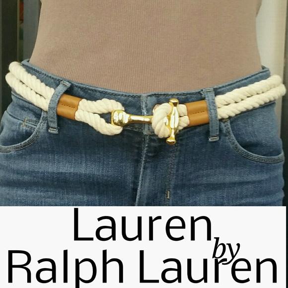 Ralph Lauren Accessories | Ralph Lauren Leatherstraw Croco